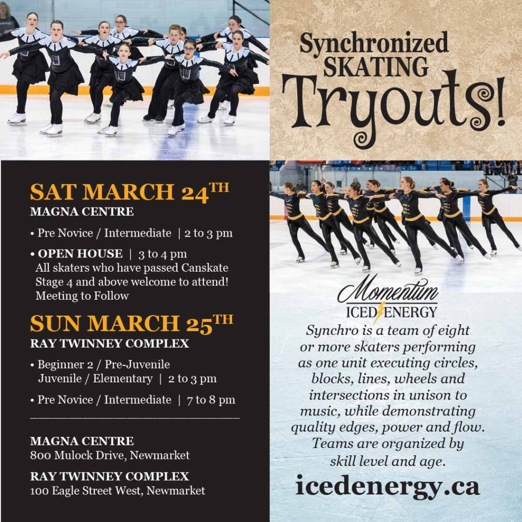 Synchro Skating Tryouts!
